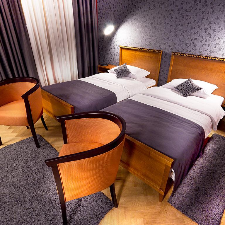 Hotelzimmer Retro